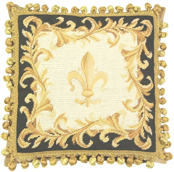 HKHHP3718T - Needlepoint Pillow 16x16