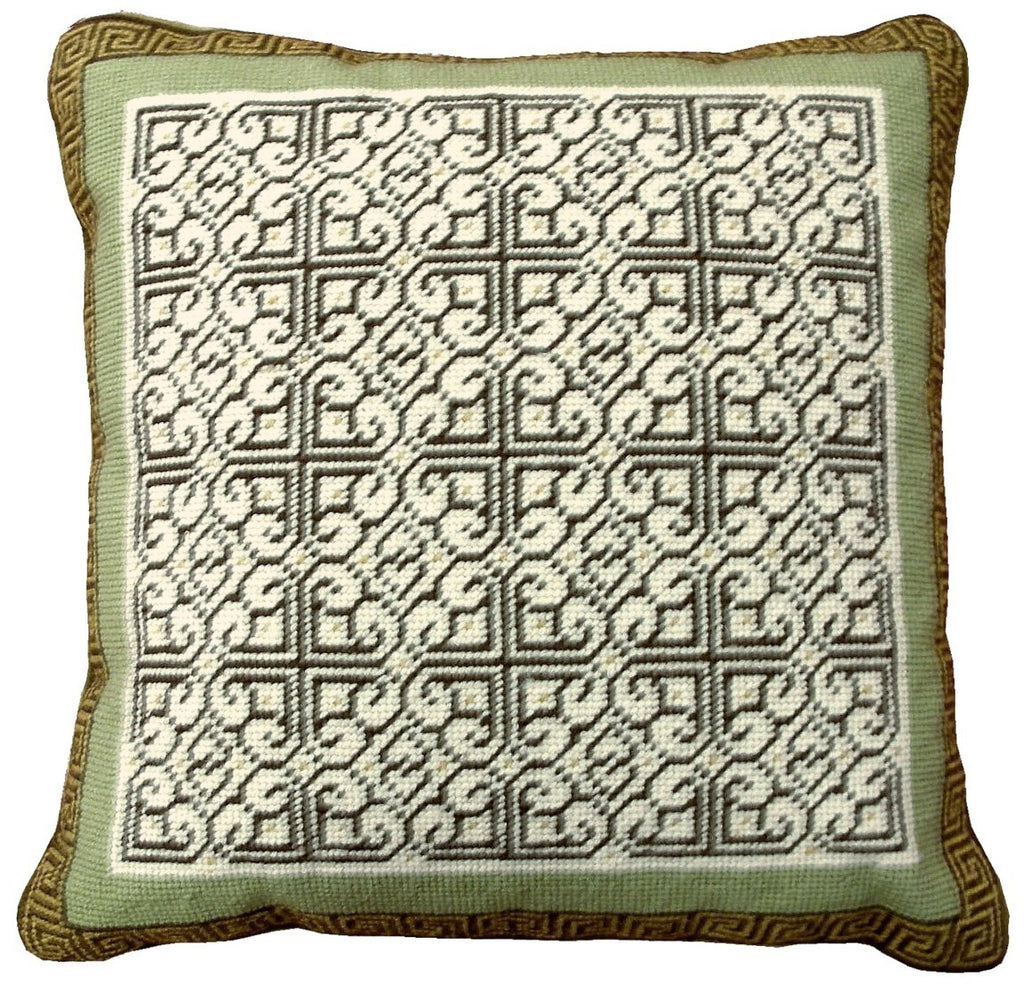 HKHHP5034 - Needlepoint Pillow 17x17