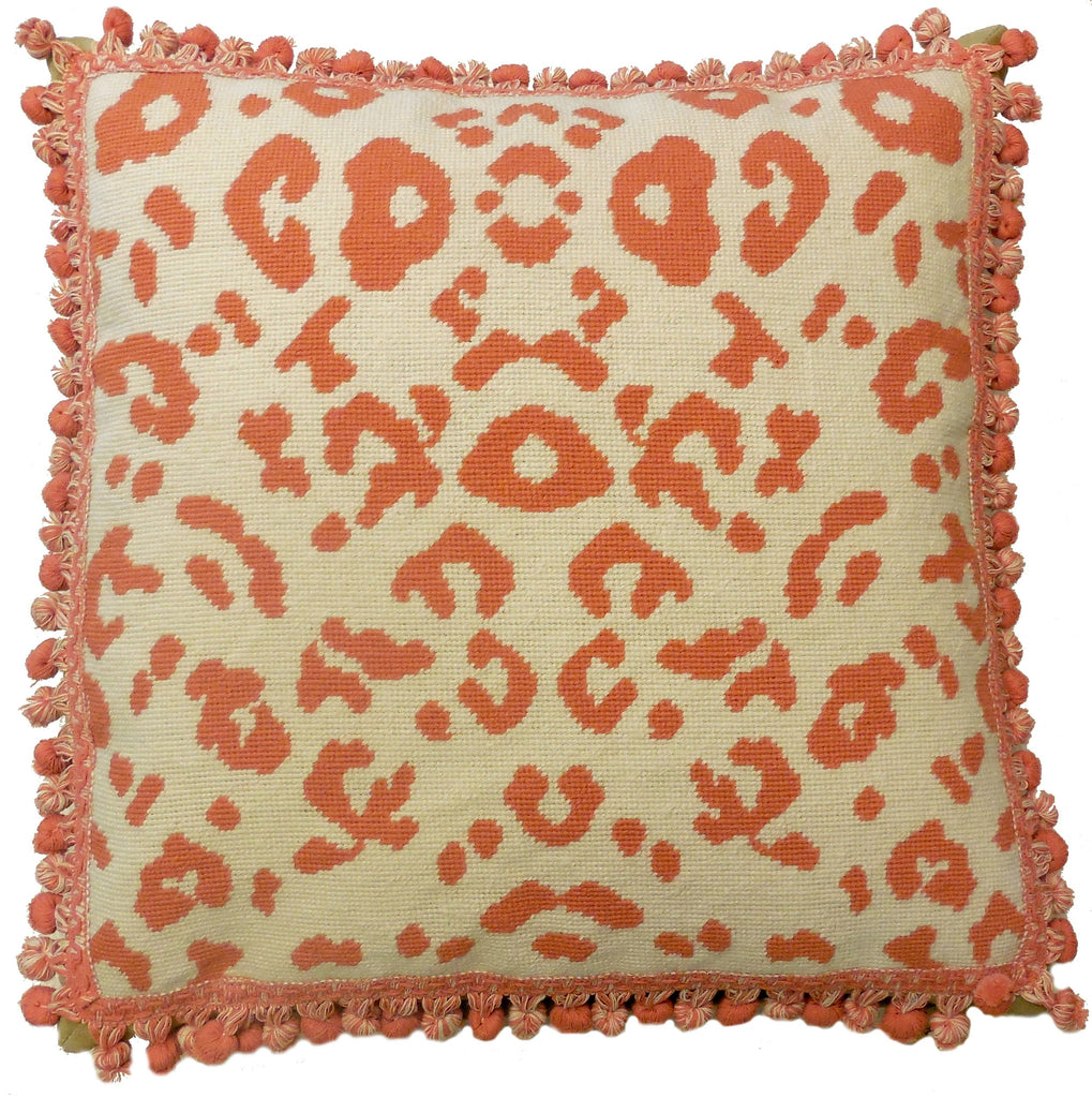 HKHHP5084T - Needlepoint Pillow 21x21