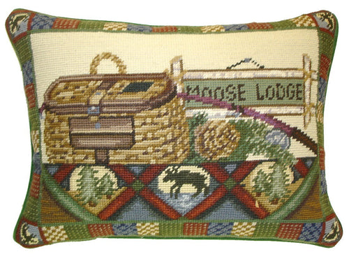 HKHHP7821 - Needlepoint Pillow 12x16