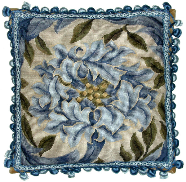 HKHHP9530T - Needlepoint Pillow 18x18