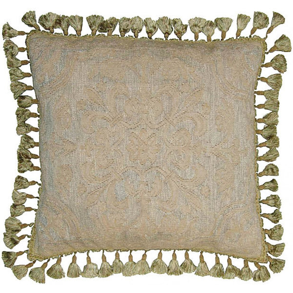 "ZM48-22"" X 22"" Aubusson pillow"