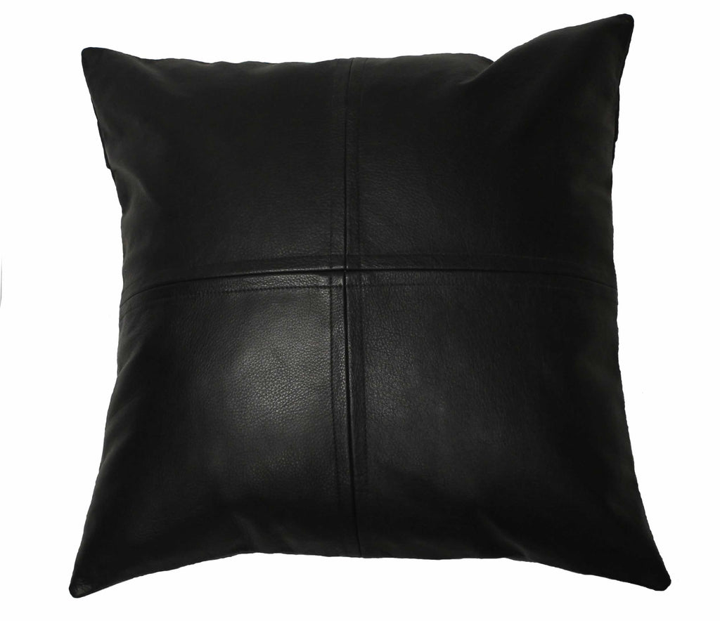 Leather Pillow 14 x 14