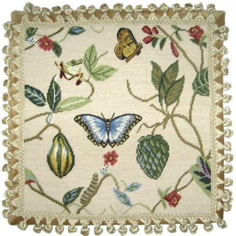 KHHP1275T - Needlepoint Pillow 18x18