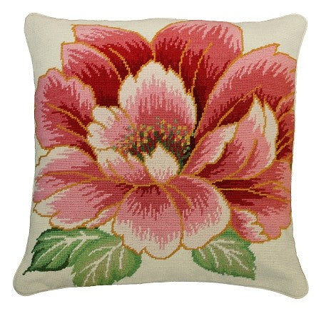 "Vickey - 18""x18"" Needlepoint PIllow"