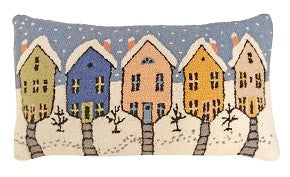 "Old Town 16""x28"" Hooked Pillow"