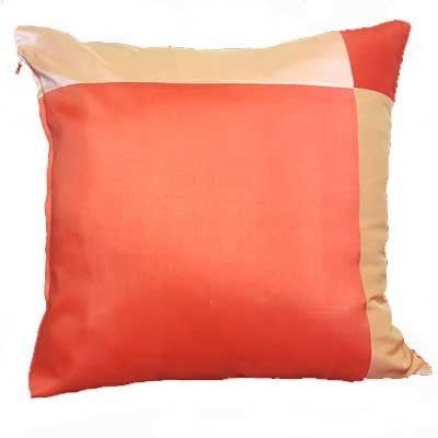 "Silk Accent Pillow  Orange - 16""x 16"""