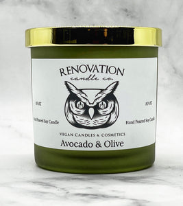 Avocado & Olive Candle