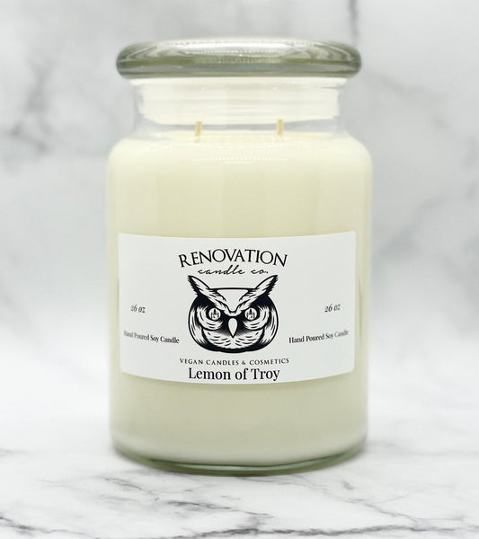 Lemon of Troy Candle