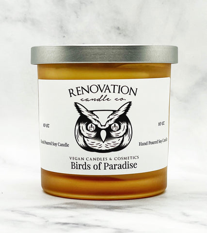 Birds of Paradise Candle
