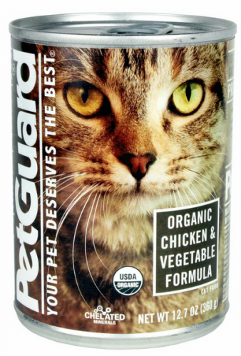 Petguard Organic Chicken And Vegetable Entree Canned Cat Food