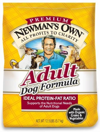 Newman's Own Organics Adult Chicken and Brown Rice Dog Dry Food