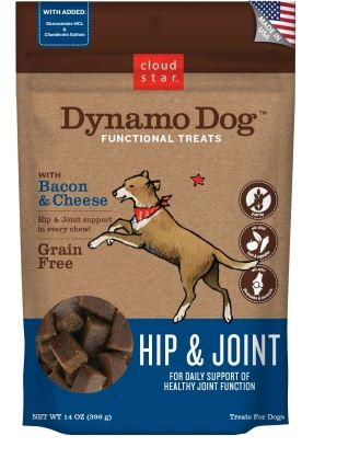 Cloud Star Dynamo Dog Functional Soft Chews Hip and Joint Dog Treats
