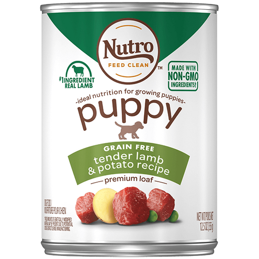 Nutro Premium Loaf Grain Free Tender Lamb & Potato Puppy Canned Food