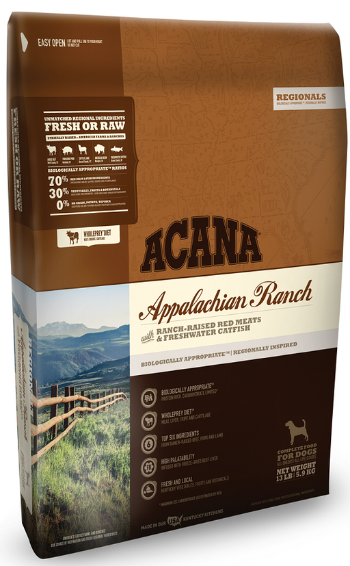 ACANA Regionals Appalachian Ranch Grain Free Dry Dog Food