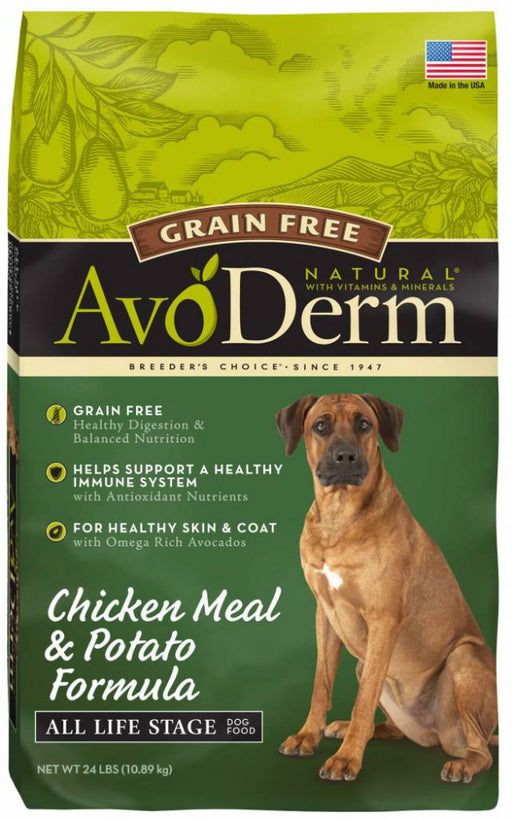 Avoderm Grain Free Chicken & Vegetable Recipe Dry Dog Food