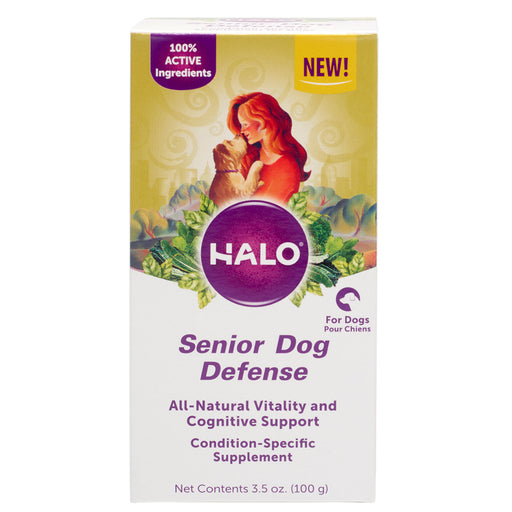 Halo Senior Dog Defense Supplement Powder for Dogs
