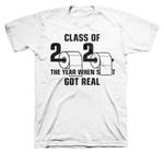 Class of 2020 Men's Next Level Premium Fitted CVC Crew Tee