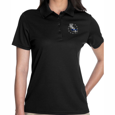 CNOA Core 365 Ladies Origin Performance Piqué Polo - BLACK