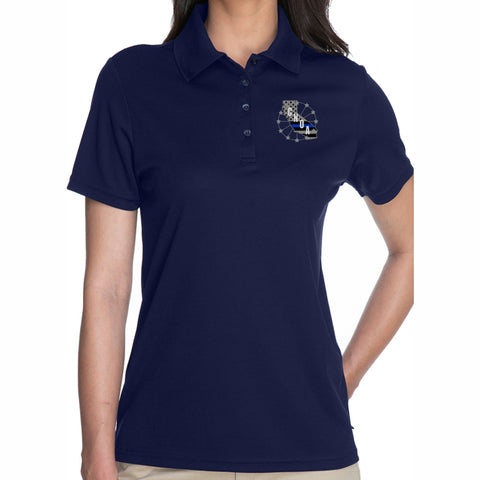CNOA Core 365 Ladies Origin Performance Piqué Polo - NAVY
