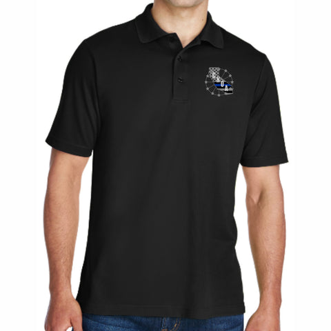 CNOA Core 365 Men's Origin Performance Piqué Polo - BLACK