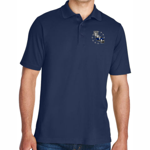 CNOA Core 365 Men's Origin Performance Piqué Polo - NAVY