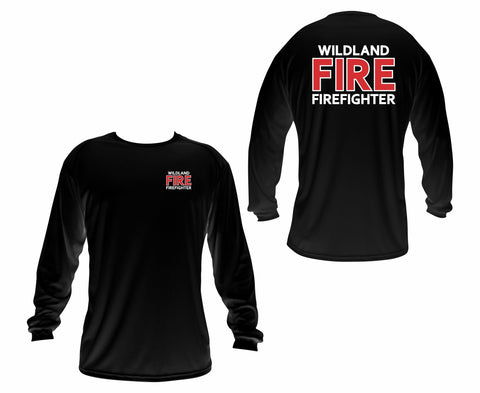 Long Sleeve Wildland Firefighter T-shirt