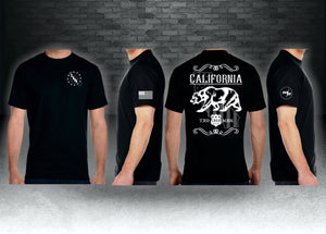 CNOA California TRD MRK Next Level Premium Fitted CVC Crew Tee