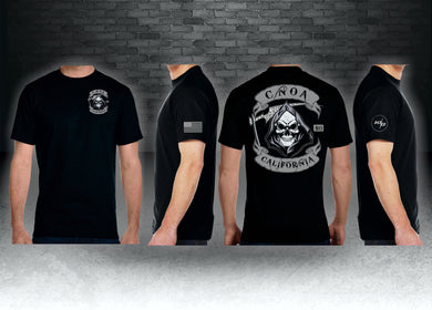 CNOA Grim Reaper Next Level Premium Fitted CVC Crew Tee