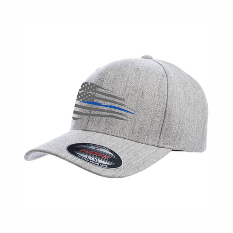 Heathered  Grey Flexfit Hat
