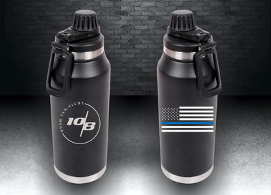 Blue Line 30oz. Hydration Bottle