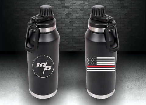 Red Line Hydration Bottle