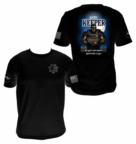 CNOA Gate Keeper Men's Next Level Premium Fitted CVC Crew Tee
