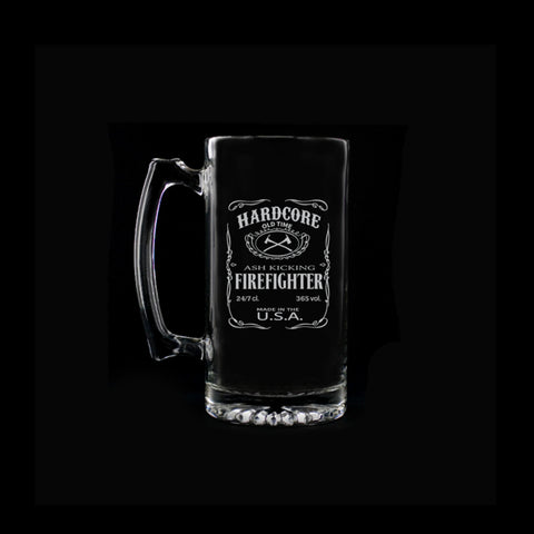 Firefighter Beer Mug