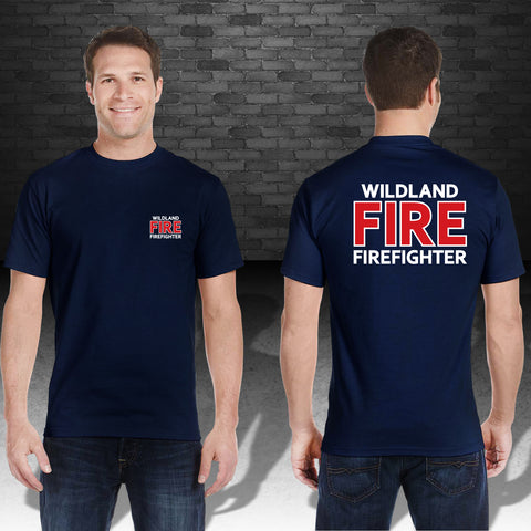 Short Sleeve Wildland Firefighter T-shirt