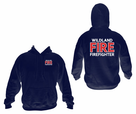 Wildland Firefighter Hooded Sweatshirt