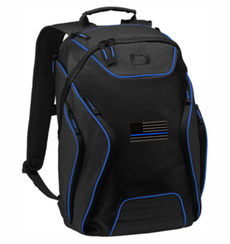 Blue Line Ogio Computer Back Pack