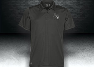CNOA MEN'S ECLIPSE H2X-DRY® PIQUE POLO - BLACK