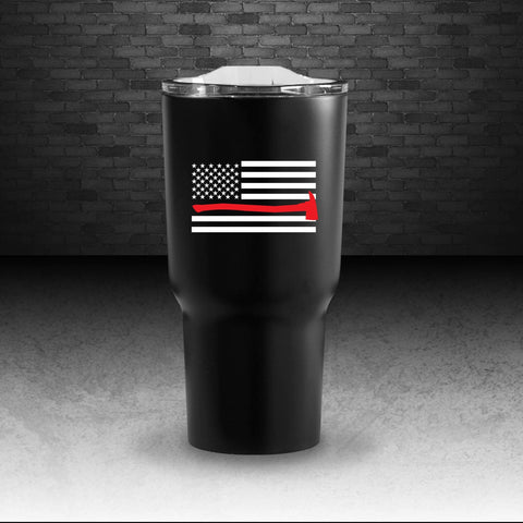 Red Line Coffee Tumbler - Dual Wall