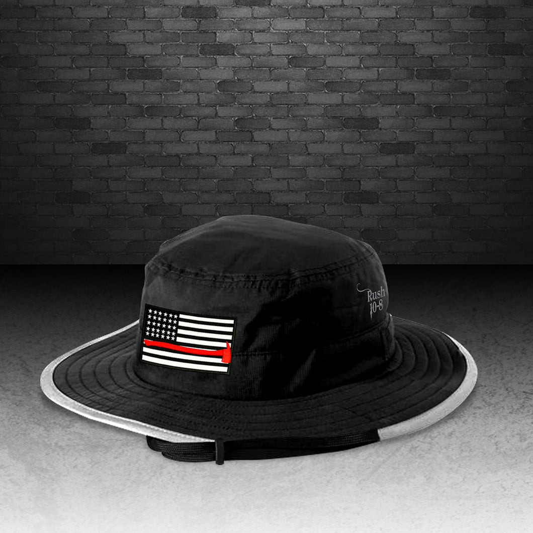 Thin Red Line Boonie Hat