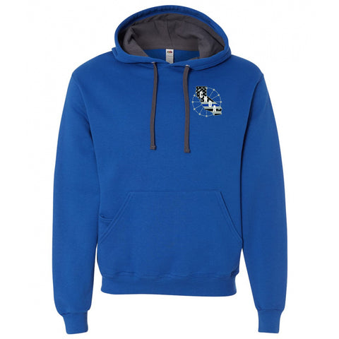 CNOA - Fruit of the Loom Adult 7.2 oz. SofSpun® Hooded Sweatshirt - Admiral Blue