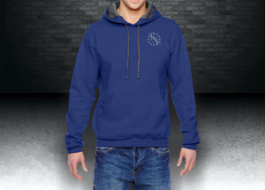 CNOA Fruit of the Loom Adult 7.2 oz. SofSpun® Hooded Sweatshirt - Admiral Blue
