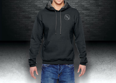 CNOA Fruit of the Loom Adult 7.2 oz. SofSpun® Hooded Sweatshirt - Black