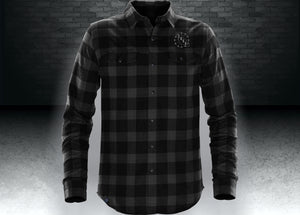 CNOA Men's Logan Snap Front Flannel Shirt
