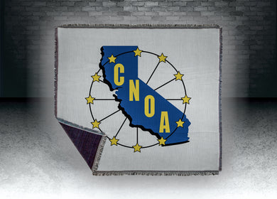 CNOA Sublimated Tapestry Throw