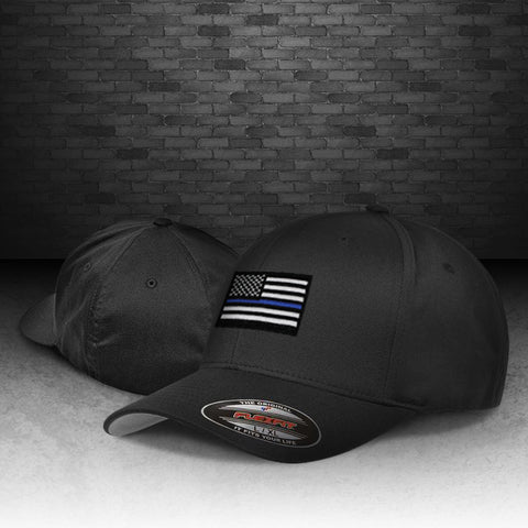 Thin Blue Line Flexfit Hat