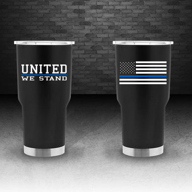 Thin Blue Line 30 ounce tumbler