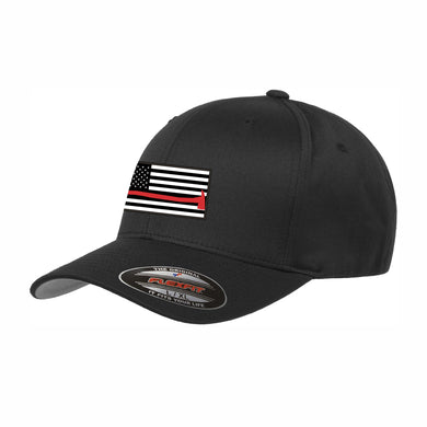 Thin Red Line Flexfit Wooly 6-Panel Cap