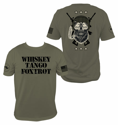 Guns and Whiskey Tango Foxtrot T-shirt