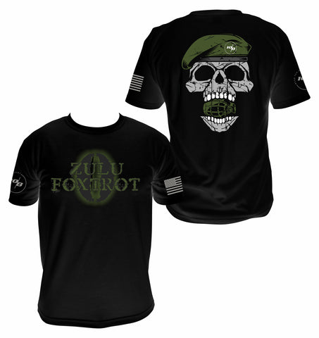 CNOA Zulu Foxtrot Men's Next Level Premium Fitted CVC Crew Tee